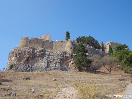 Крепость Линдос