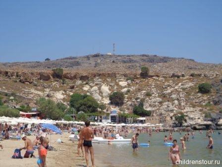 Пляж Линдос Родос