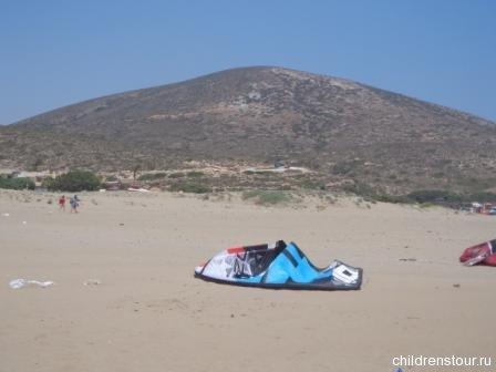 Поцелуй двух морей Прасониси на Родосе