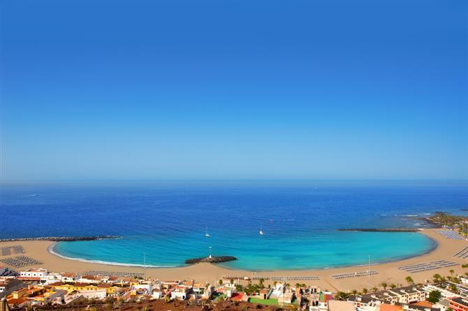 Лучшие пляжи Тенерифе - Пляж Лас Вистас (Las Vistas)