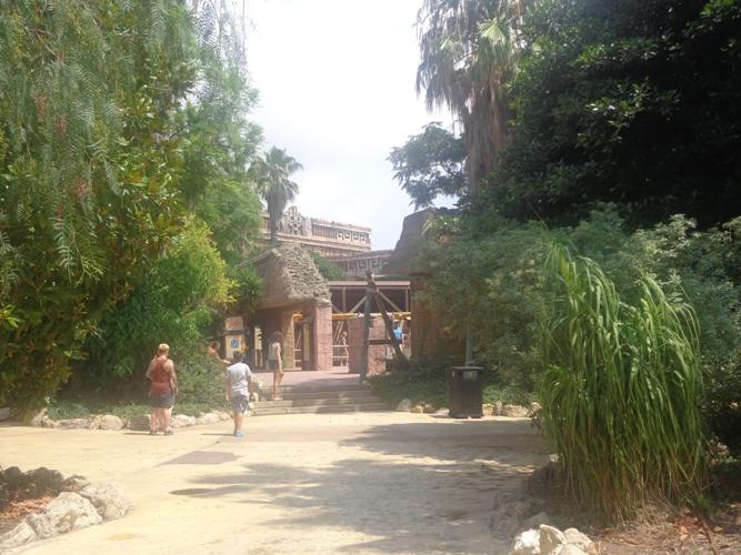 Испания Парк Порт Авентура - Храм Огня