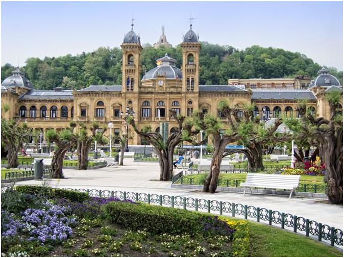 City Hall в Сан Себастьяне (San-Sebastian)