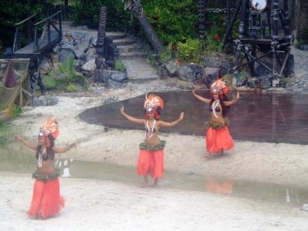 Port Aventura Испания - Полинезия