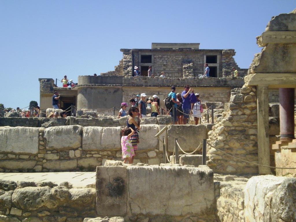 Остров Крит Кносский дворец