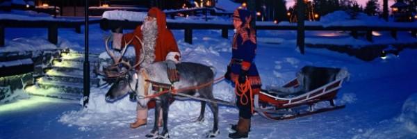 Детский отдых в Финляндии у Санта Клауса в Лапландии