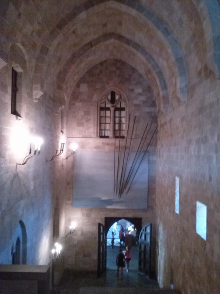 Крепость древнего Родоса