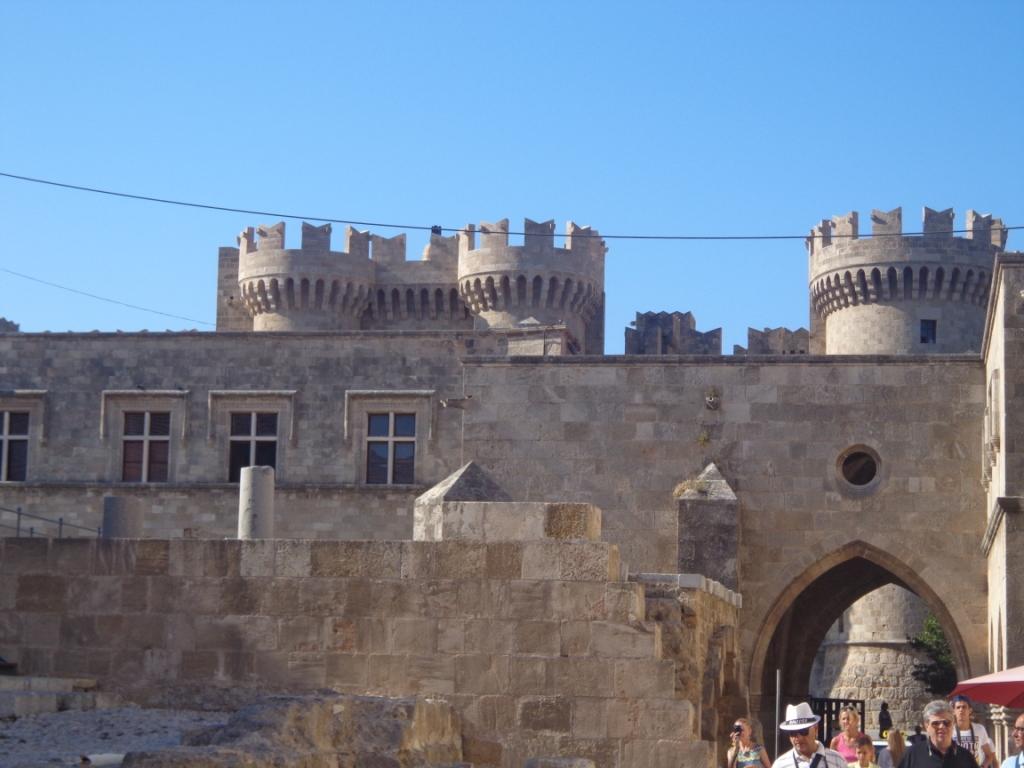 Крепость на острове Родос