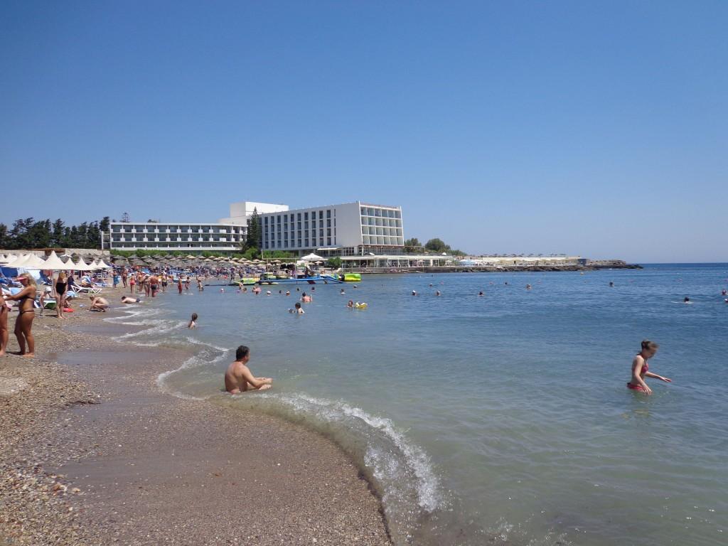 Остров Родос – отдых с детьми на пляжах острова