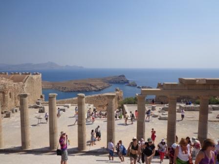 Акрополь на острове Родос - Греция