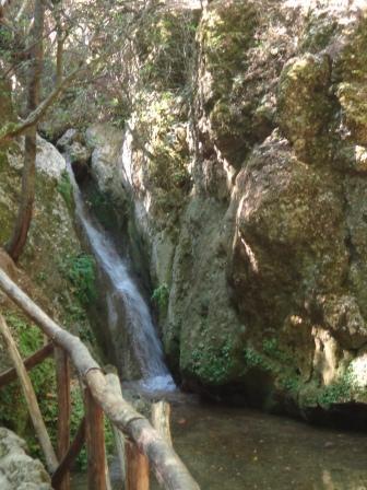 Долина бабочек Родос - водопад