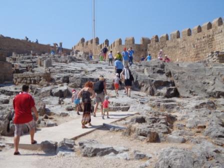 Линдос - Акрополь Родоса