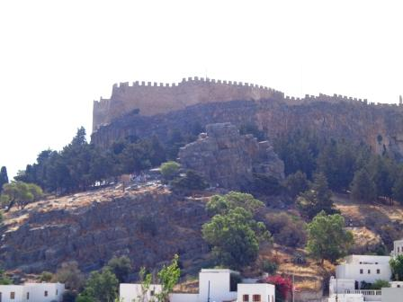Линдос - крепость на Родосе