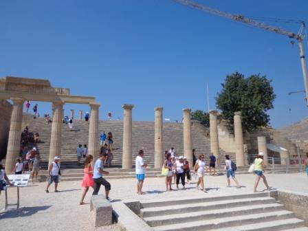 Линдос - фото Акрополя