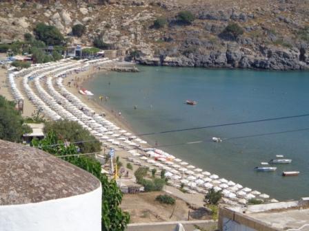 Пляж Линдос Родос (Греция)