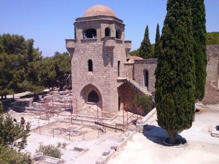 Филеримос Церковь св. Богородицы на Родосе