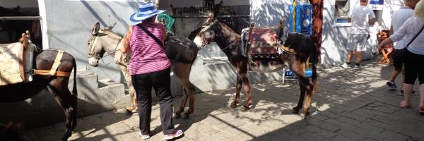 Линдос (Lindos) - Родос, самый популярный городок острова