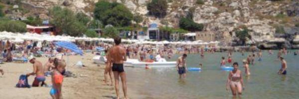 Пляж Линдос Родос - шикарное побережье для детского отдыха в Греции