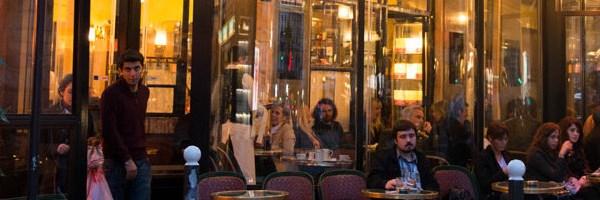 Кафе и магазины Парижа
