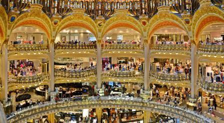 Магазины Парижа