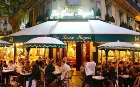 Самые популярные кафе Парижа