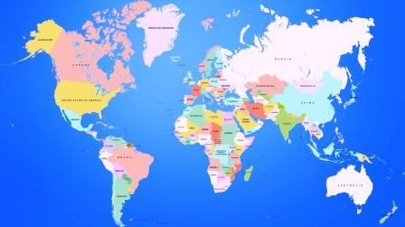 Страны и континенты мира
